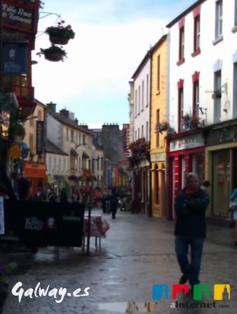Que ver en Galway - Shop Street