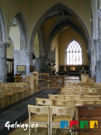 Que ver en Galway - Catedral protestante de San Nicolás, en Galway.